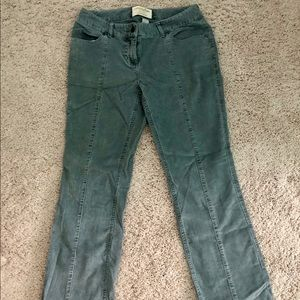 Grey cords size 6